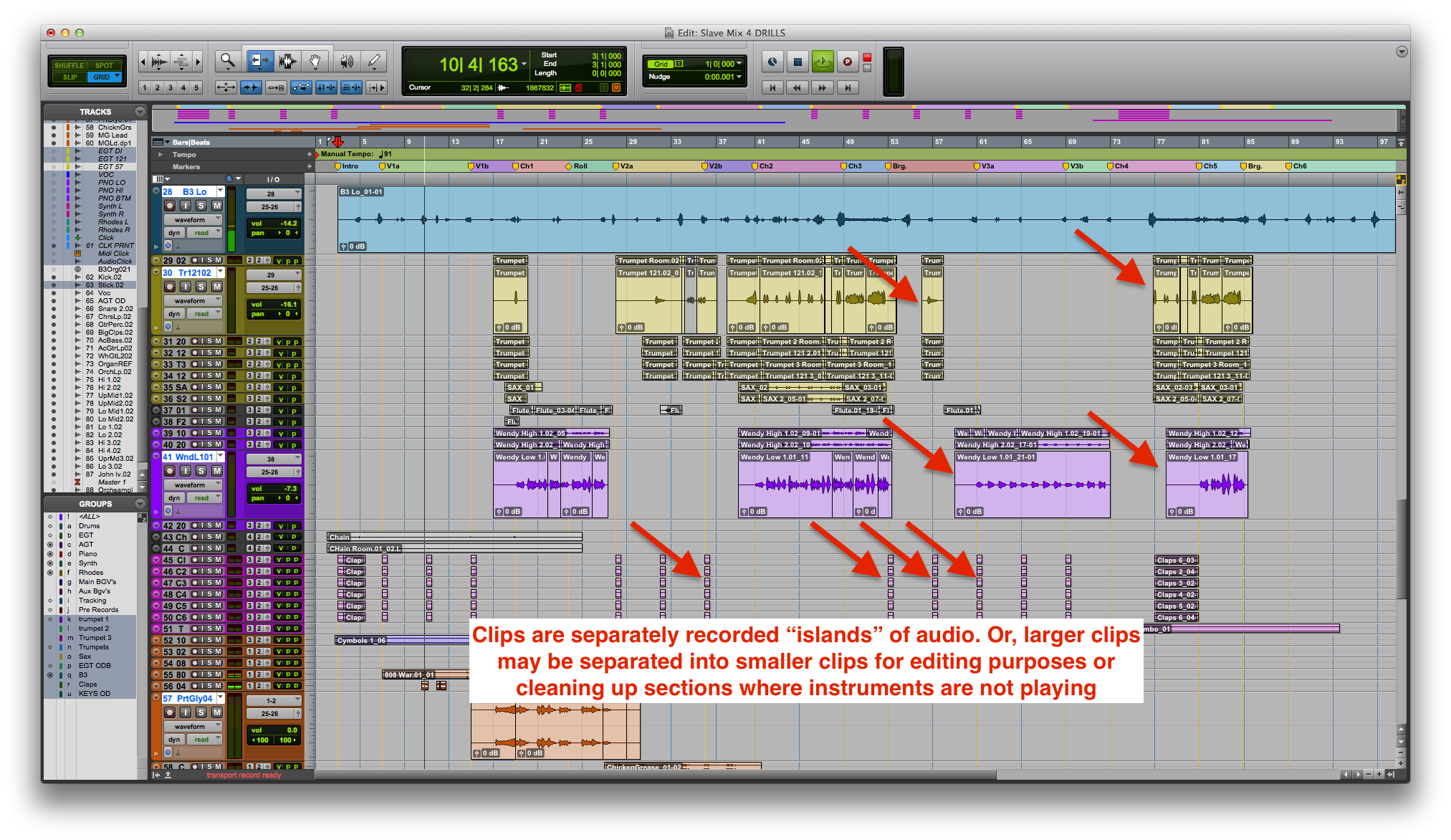 Pro Tools' Useful Clip FX Feature