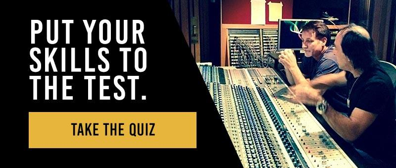 studio engineering skills quiz