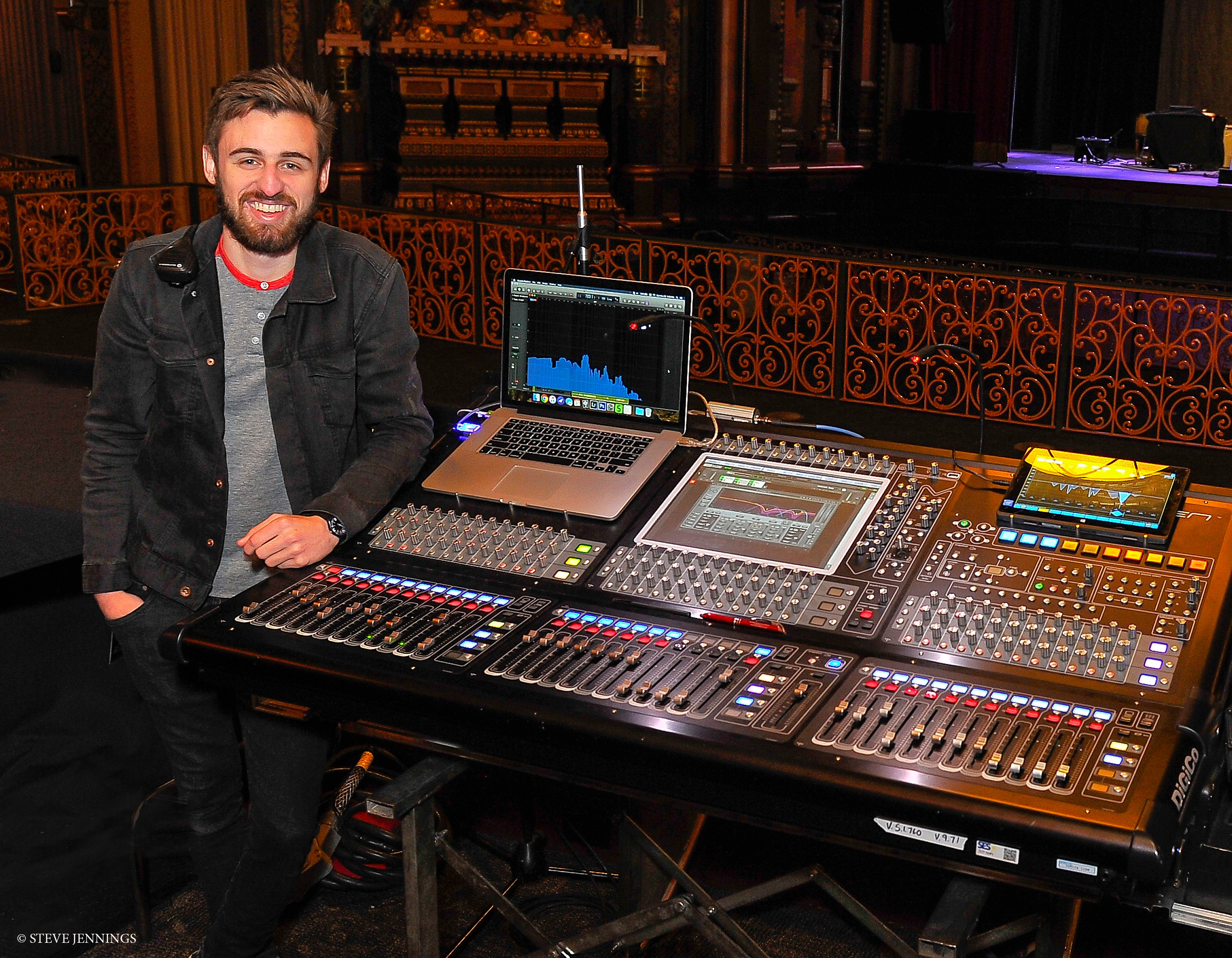 A Day in the Life of a FOH Engineer for Sturgill Simpson
