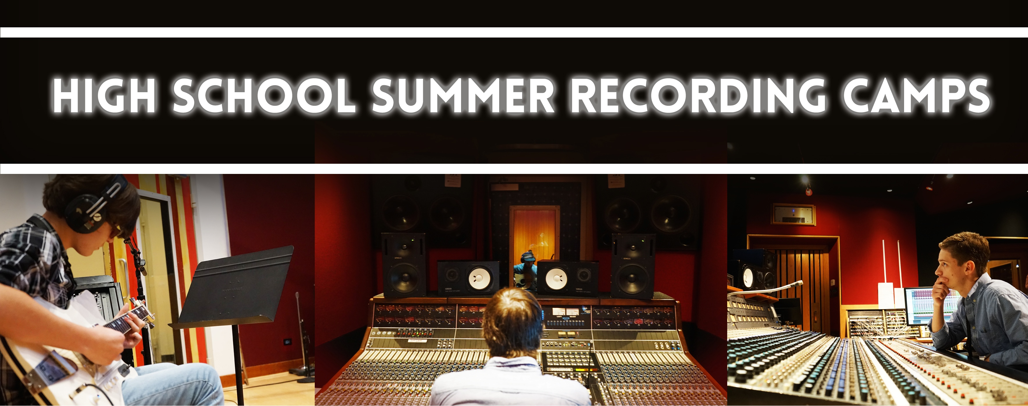High School Summer Recording Camps